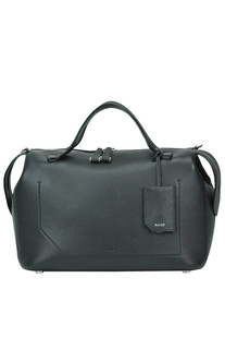 Kissen grainy leather bowling bag Bally
