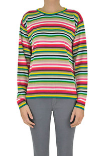 Multicolor stripes pullover N.21
