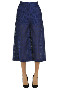 Sangallo lace trousers MSGM