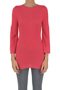 Ribbed knit viscose pullover Space Style Concept