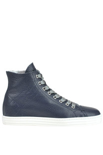 High-top leather sneakers Hogan Rebel