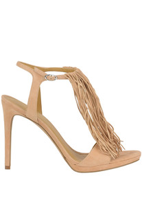 Fringed suede sandals Kendall+Kylie