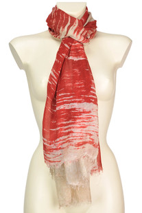 Wood scarf Fulvio Luparia