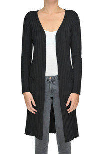 Ribbed knit cardigan Pinko