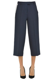 Crepe cropped trousers Michael Michael Kors