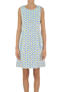 Printed cotton dress Love Moschino