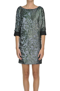 Sequined dress Patrizia Pepe Jeans