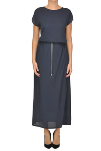 Crepe long dress Fabiana Filippi