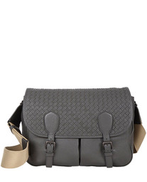 Gardena Medium Intrecciato nappa messenger bag Bottega Veneta
