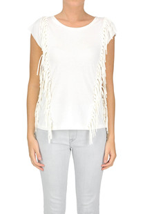 Fringed top Twin-set Jeans