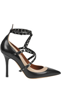 'Love Latch' leather pumps Valentino