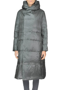 Quilted long down jacket Plantation