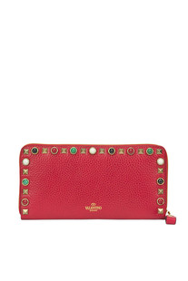 Rockstud Rolling leather wallet Valentino