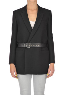 Double breasted wool blazer Saint Laurent