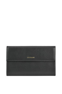 Textured leather wallet Trussardi
