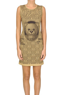 Lame cloth dress Moschino Couture