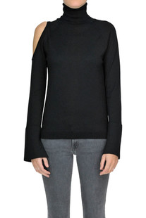 Cut-out turtleneck pullover Gotha