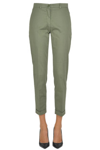 Chino style cotton trousers Seventy 19.70