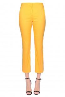 Pantaloni in popeline stretch Prada