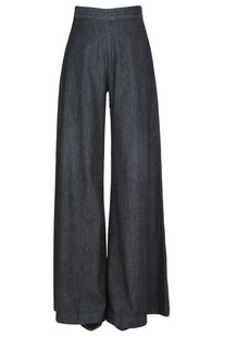 Wide leg denim trousers Onedress Onelove