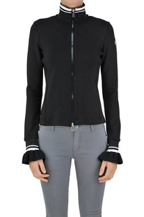 Stretch techno fabric jacket Moncler