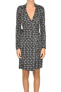 New Jeanne Two wrap dress DVF Diane Von Furstenberg