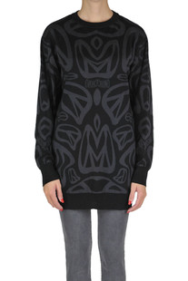 Virgin wool pullover Moschino Couture