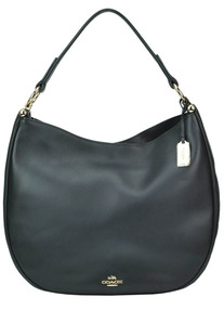 Leather hobo bag Coach