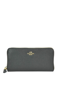 Saffiano leather wallet Coach