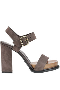 Suede sandals Tod's