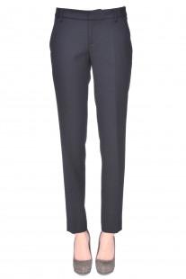 Pantaloni in tessuto fresco di lana Ralph Lauren