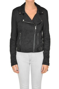 Eco-suede biker jacket Supertrash