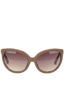 Oversized snakeskin cat-eye sunglasses LFL96C2 Linda Farrow