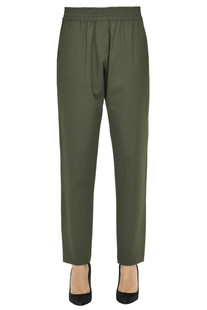 Liquore wool-blend trousers Pinko