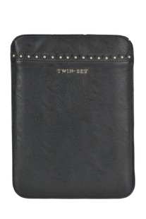 Eco-leather tablet case Twin-set  Simona Barbieri