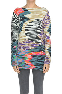 Printed knit pullover Missoni