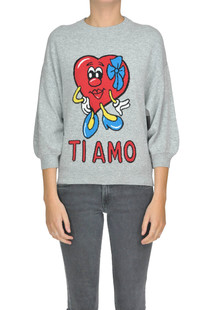 Printed pullover Love Moschino