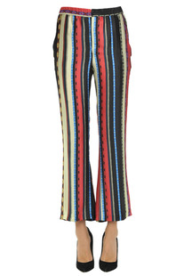 Lightness silk trousers Dondup