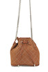 Small Falabella Quilted Studded Bucket Bag Brandy Stella McCartney