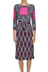 Printed viscose dress Etro