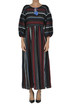 Embroidered cloth long dress Shirtaporter