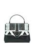 Petite Faye embellished leather bag Paula Cademartori