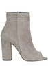 Open-toe suede ankle-boots Imma Albergo