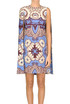 Printed silk dress Valentino