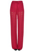Crochet knit trousers Twin-set  Simona Barbieri