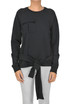 Self-tie sash sweatshirt MSGM