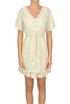 Embellished cotton-blend dress Twin-set  Simona Barbieri