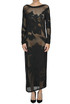 Embroidered cut-out knit dress Twin-set  Simona Barbieri