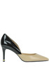 Ashby bicoloured leather pumps Michael Michael Kors