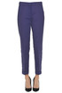 Textured cloth trousers Twin-set  Simona Barbieri
